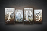 Top 5 Letterpress