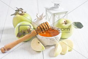 Apple and honey