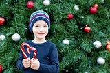 kid at christmas