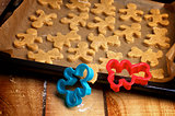 Preparation Gingerbread Men