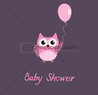 Baby Shower Owl