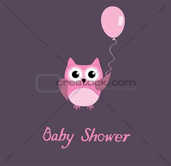 Baby Shower Owl