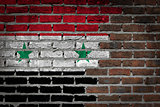 Dark brick wall - Syria