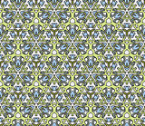 seamless pattern with floral ornaments