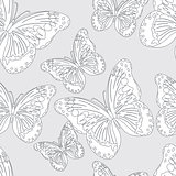 Seamless vector butterfly