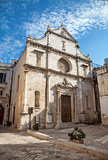 Cathedral in the ancient city of Monopoli