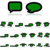 Talk icons