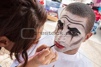 Circus Clown Makeup