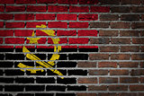 Dark brick wall - Angola