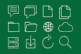 internet icons set