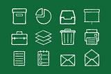 internet icons set