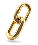 Golden chains ring