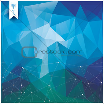 Abstract geometric colorful background, pattern design elements,