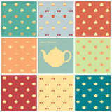 Eight patterns time for tea
