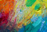 Oil paints Backgroud