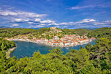 Novigrad Dalmatinsky bay nature view