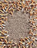 Cigarettes frame