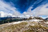 Mountain rocky landscape