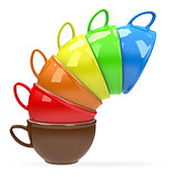 The colour cups