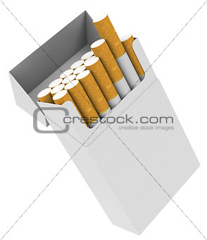 Cigarette box