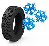 The car tire