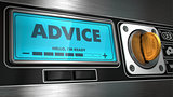 Advice on Display of Vending Machine.