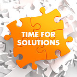 Time for Solutions on Orange Puzzle.