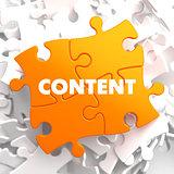 Content on Orange Puzzle.