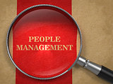 People Management through Magnifying Glass.