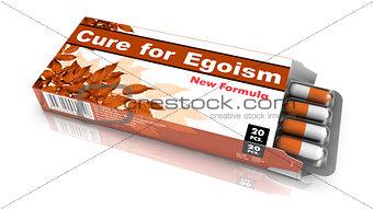 Cure for Egoism - Blister Pack Tablets.