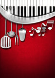 Music and Food - Menu Design