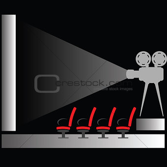 cinema silhouette