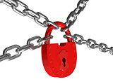 lock on a circuit