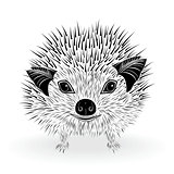 hedgehog symbol vector