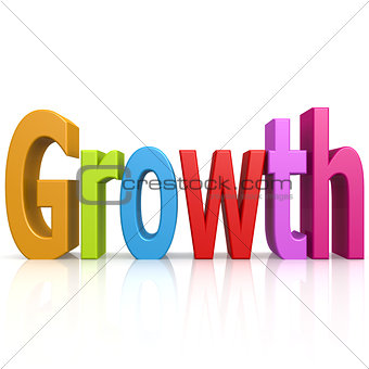 Growth color word