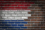 Dark brick wall - Netherlands