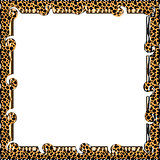 Abstract patterned frame