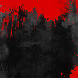Bloody grunge background