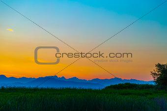 Canadian West Coast Sunset