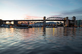 The Burrard Street Bridge Of Vancouver
