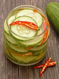 asian cucumber pickle