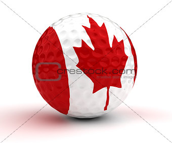 Canadian Golf Ball