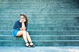 Summer Beautiful Girl Portrait
