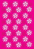 Xmas snowflake texture