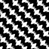 Design seamless stripy diamond zigzag pattern