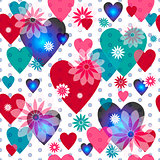Seamless valentine pattern-new