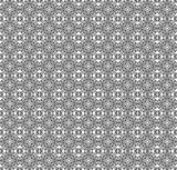 Seamless decorative pattern in a graphic style