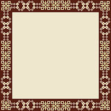 oriental style border and frame vector