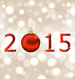Happy new year shimmering background