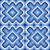 Seamless pattern with winter motif